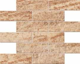 Мозаика QUARZITE MOSAICO BRICKS QZ 00 неполированный 30x38 от Estima (Россия)